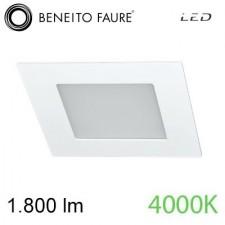 Foco SPIKE 20W Blanco 4000K Beneito & Faure