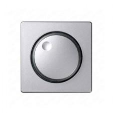 Tapa regulador giratorio 82054-93 aluminio frío Simon 82
