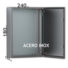 Armario eléctrico metálico acero inox eldon ASR0182415