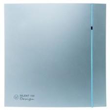 Extractor de baño temporizado Silent-100 Silver Design CRZ Soler & Palau