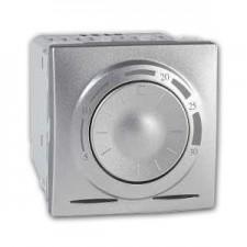 Termostato electrónico Schneider básico 8A U3.501.30 aluminio