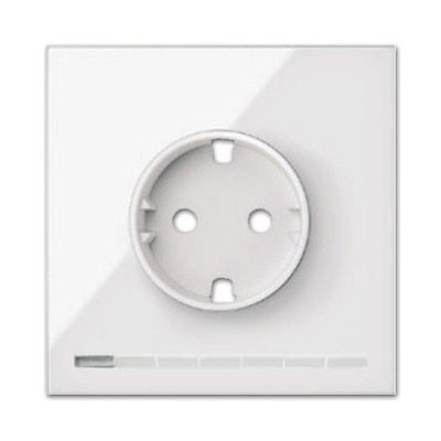 Tapa base de enchufe IO 10002041-130 blanco Simon 100