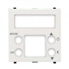 Tapa para termostato digital N2240.5 BL blanco Zenit Niessen