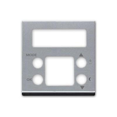 Tapa para termostato digital N2240.5 PL plata Zenit Niessen