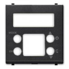 Tapa para termostato digital N2240.5 AN antracita Zenit Niessen