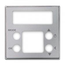 Tapa para termostato digital 8540.5 PL plata SKY Niessen