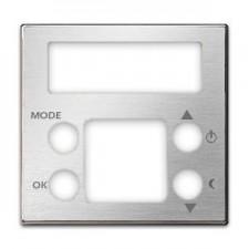 Tapa para termostato digital 8540.5 AI acero inoxidable SKY Niessen