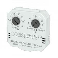 Temporizador doble nivel para lámparas LED TEMPOLED 2N OB200008 ORBIS