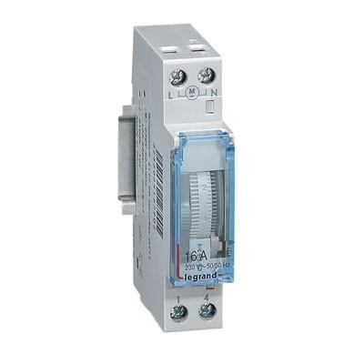 Interruptor horario programable 412790 con reserva 16A Legrand
