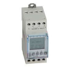 Interruptor horario digital programable 412641 2 salidas Legrand