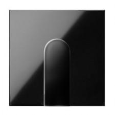 Tapa salida de cables ancha 10002051-138 negro Simon 100