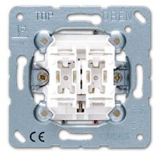 Doble interruptor persianas 509vu 10ax 250v serie ls990 jung