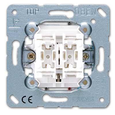 interruptor unipolar persianas jung 509vu 10ax 250v serie. Black Bedroom Furniture Sets. Home Design Ideas