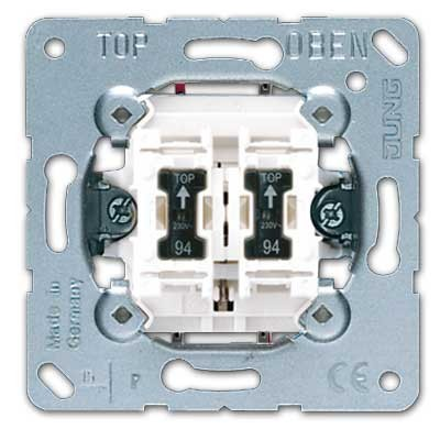 Doble pulsador jung 535u5 ls990