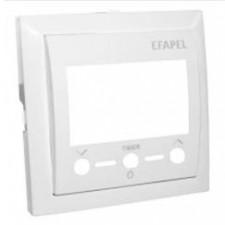 Tapa termostato digital Efapel 90743T BR