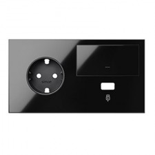 Kit front dormitorio izquierda 10020207-138 negro Simon 100