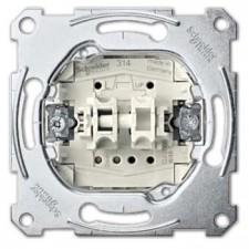 Conmutador + pulsador MTN3128-0000 10AX