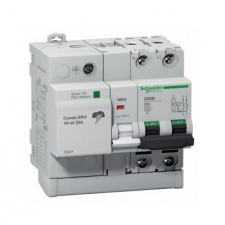 Protector combinado sobretensiones 1P+N 40A Combi SPU 16303 Schneider Electric