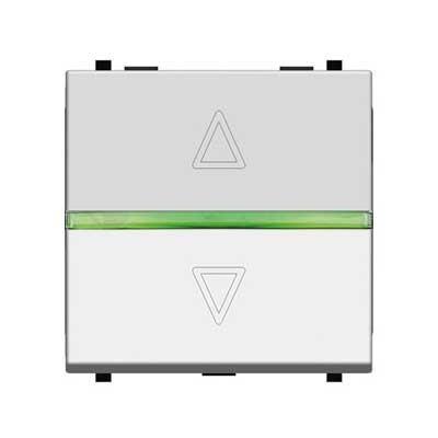 Interruptor de persianas electrónico blanco N2261.2 BL zenit niessen