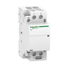 Contactor Schneider A9C20732 modular iCT 25A 2 polos