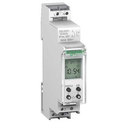 Interruptor horario digital IHP CCT15854 Schneider electric