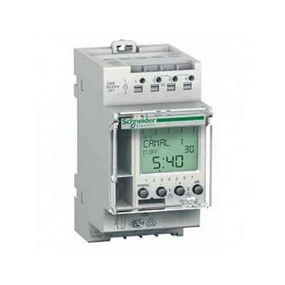 Interruptor horario digital IHP CCT15722 Schneider electric 2 canales