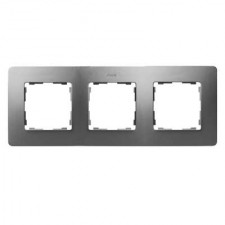 Marco aluminio frío base negro 3 elementos 8200630-293 Detail Air Simon