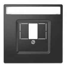 Tapa cargador USB doble antracita schneider d-life MTN4250-6034
