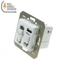 Cargador USB universal WMC 45 Serie II Blanco