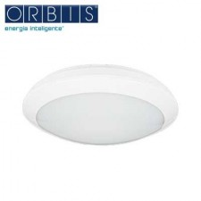 Plafón con detector ultrasonidos LED blanco ORBIS PLADILED 80 E