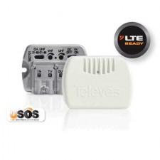Amplificador interior vivienda 1e/2s + TV NanoKom MATV 562703 Televés