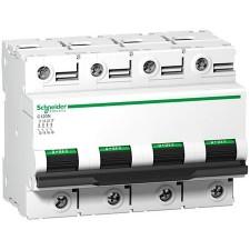 Interruptor automatico Schneider A9N18480 C120H 4 polos 100A Curva C