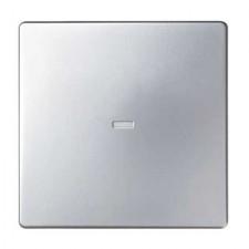 Tecla visor central interruptor 8200011-093 aluminio frío Simon 82
