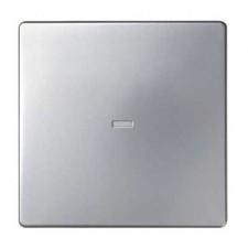 Tecla visor central interruptor 8200011-033 aluminio mate Simon 82