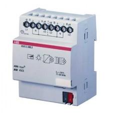 Actuador regulador universal 2 canales 300VA MDRC UD/S 2.300.2 ABB