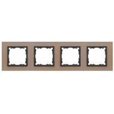 Marco cristal cobre 4 elementos 82847-34 Simon 82