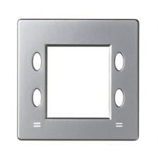 Tapa termostato digital 82555-33 aluminio mate Simon 82