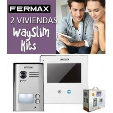 Kit Fermax Way Slim videoportero 2 líneas 01422