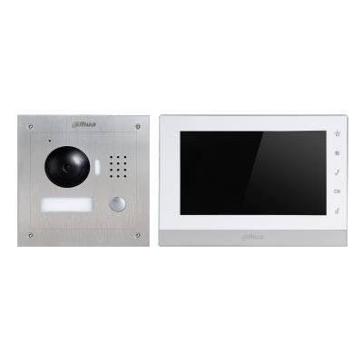 Videoportero inalámbrico IP control remoto antivandálico 7 pulgadas