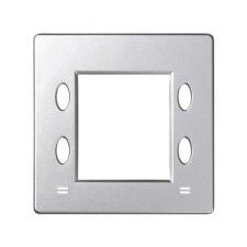 Tapa termostato digital 82555-93 aluminio frío Simon 82