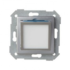 Tapa baliza basculante aluminio mate Simon 82 82036-33