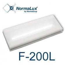Luz de emergencia LED extraplana 220 lúmenes F-200L Normalux