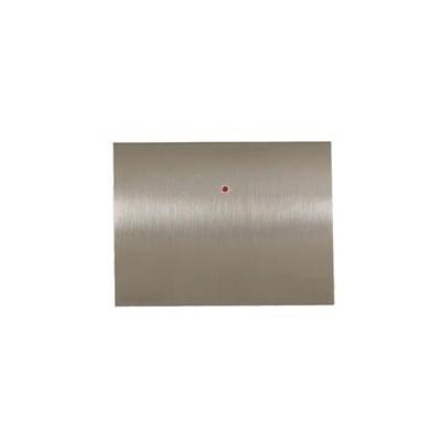 Tecla electrónica 8430 AL color acero pulido Niessen