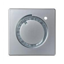 Tapa termostato empotrable 82505-33 Simon color aluminio mate