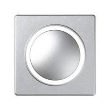 Tapa regulador giratorio táctil aluminio frío 82034-93 Simon 82