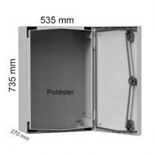 Armario eléctrico de poliéster compacto Eldon UCP750