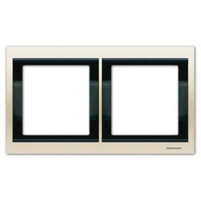 Marco 2 elementos horizontal blanco jazmin 8472.1bl Olas Niessen