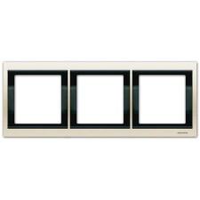 Marco 3 elementos horizontal blanco jazmin 8473.1bl Olas Niessen