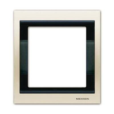 Marco 1 elemento blanco jazmin 8471bl serie Olas Niessen
