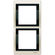 Marco 2 elementos vertical blanco jazmin 8472bl Olas Niessen